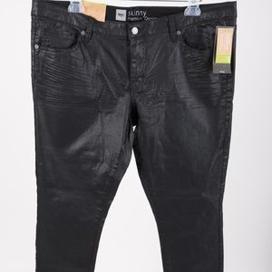 Mossimo Womens Skinny Pants Premium Denim Black 16